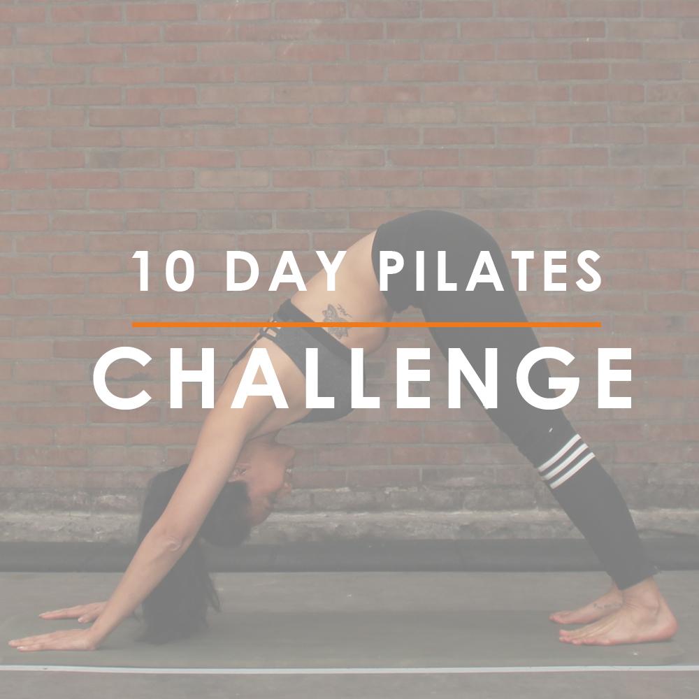 Strongbodynl, Juliette Amadsoedjoek, 10 Days Pilates Challenge