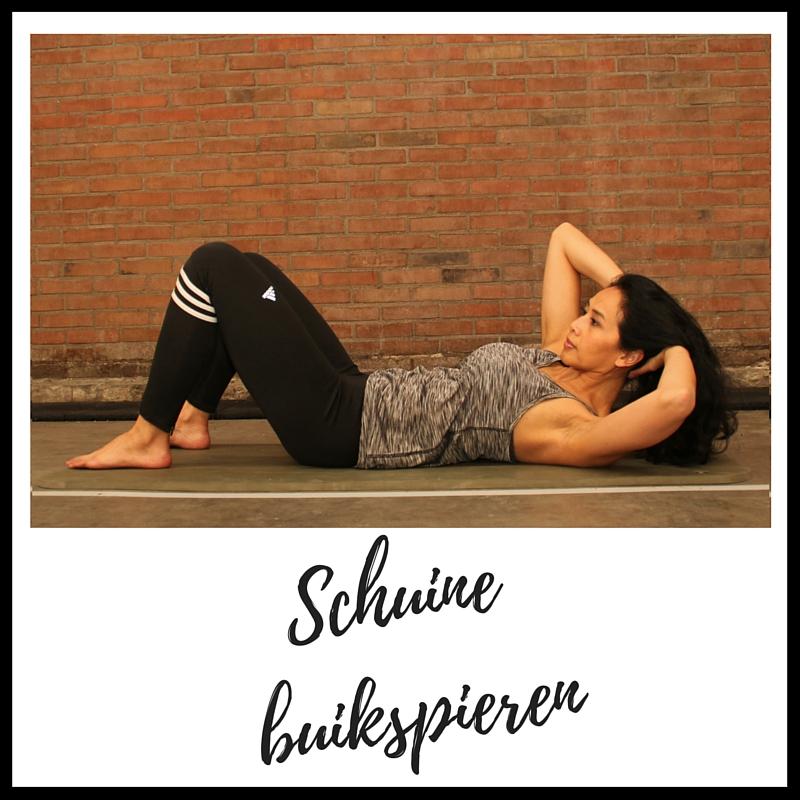 strongbodynl, juliette_amadsoedjoek, pilates, 7 Minuten Buikspieren Pilates Workout