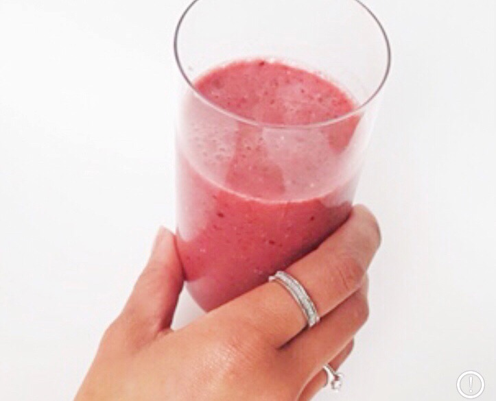 strongbodynl, smoothie, zomerfruit smoothie, chia zaad