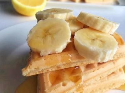 vegan citroen wafels