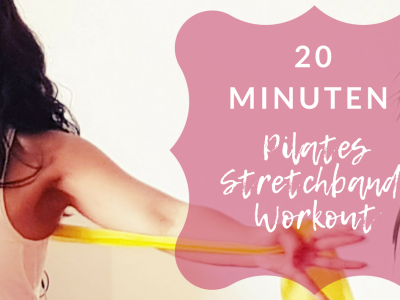 20 min stretch band Pilates workout
