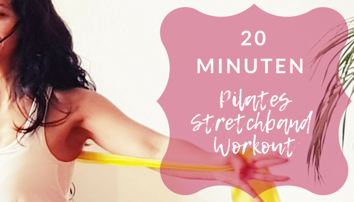 20 min stretch band Pilates workout