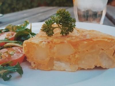 vegan spaanse omelet