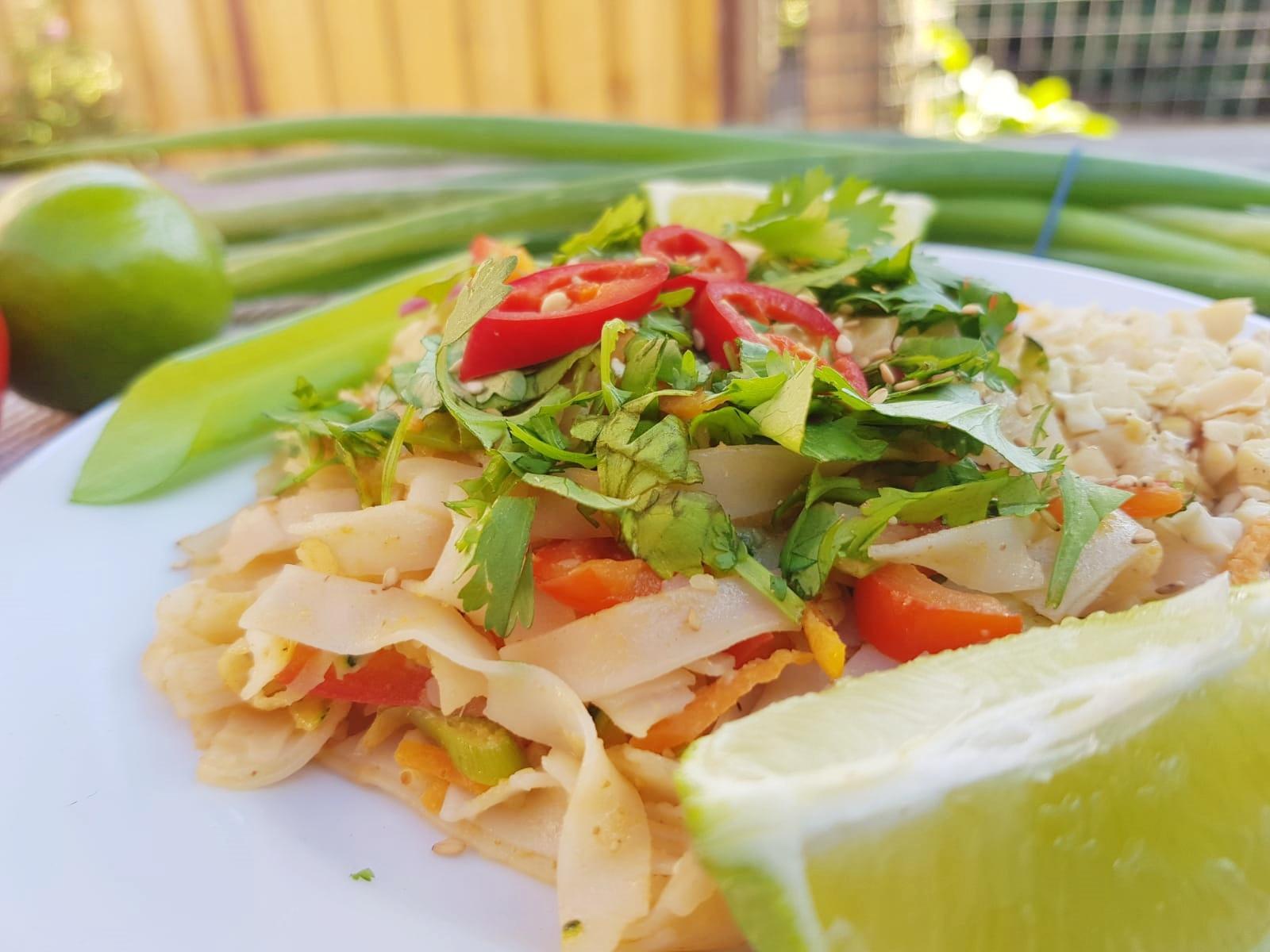 Simpele Vegan Pad Thai