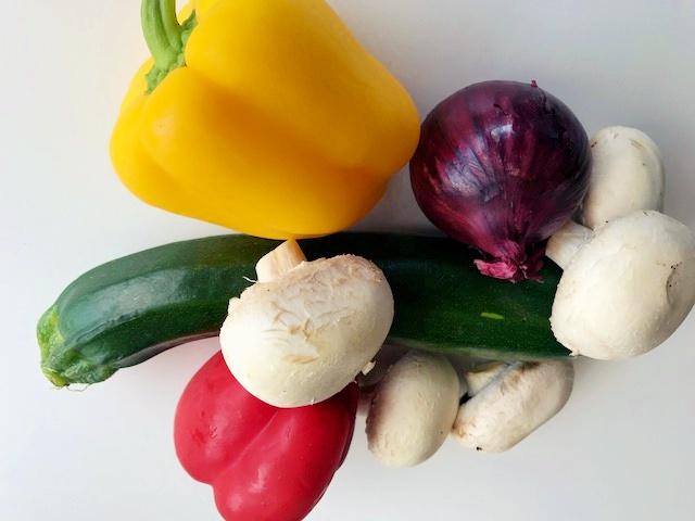 Quasedilla met groente