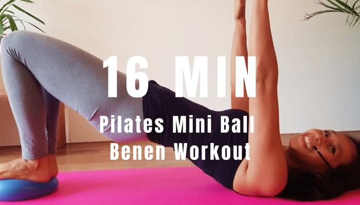 Pilates mini ball benen workout | strongbody.nl