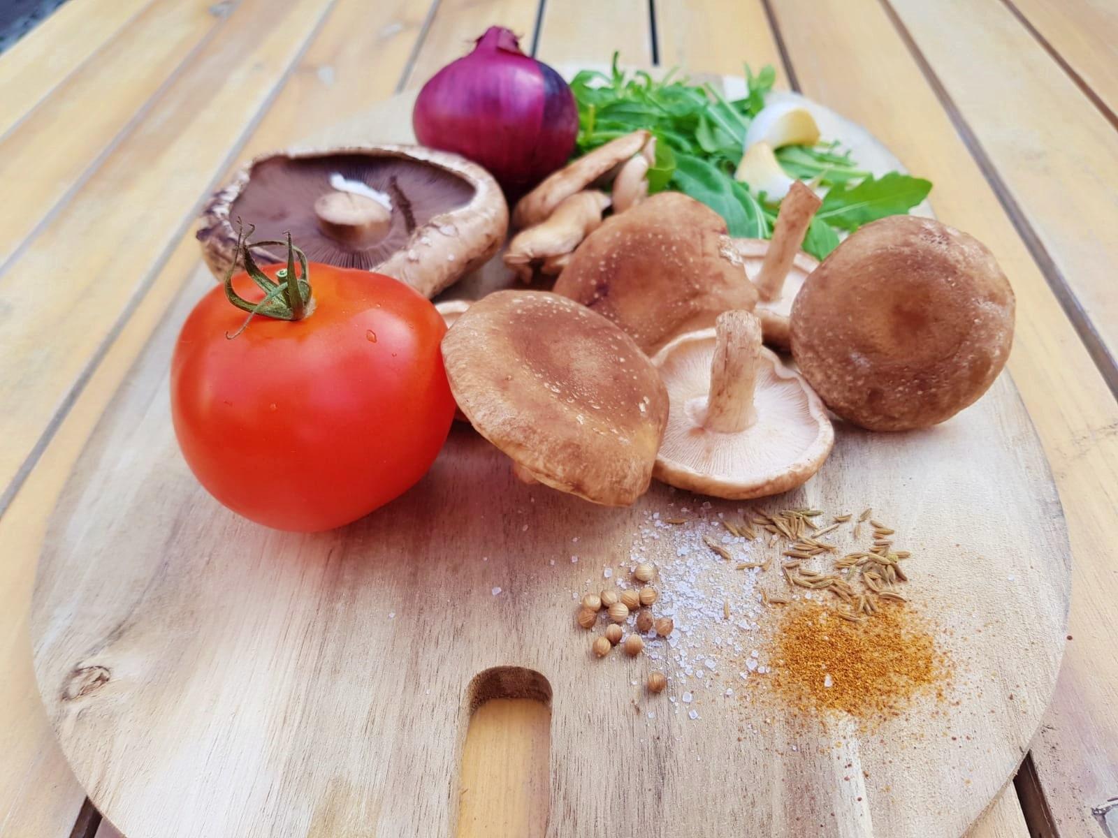 Plantbased Tuesday: Pulled Mushroom Burger