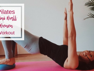 Pilates mini ball benen workout