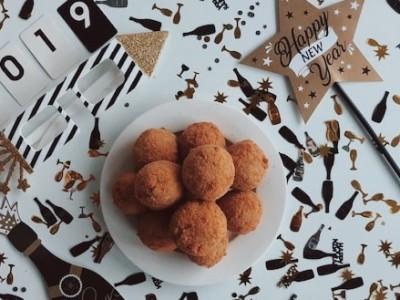 Vegan champignons bitterballen