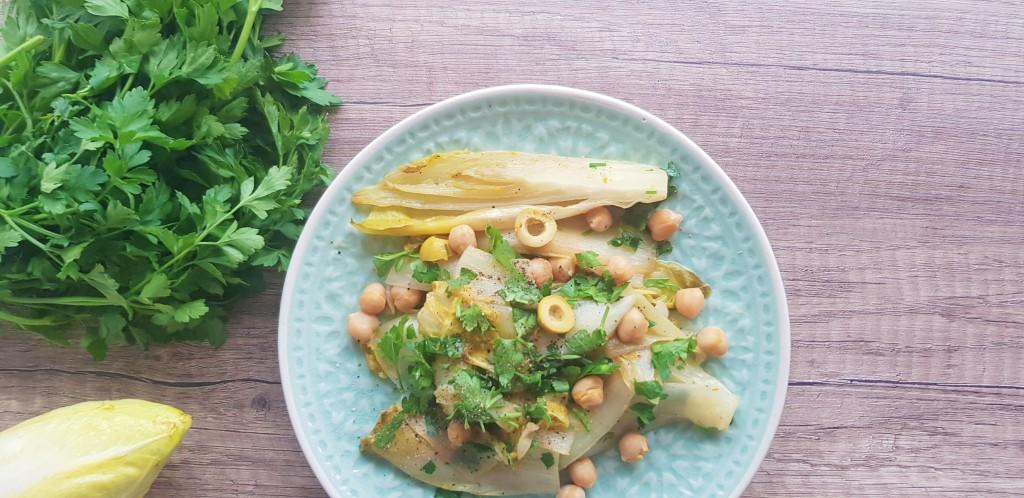 warme witlof salade
