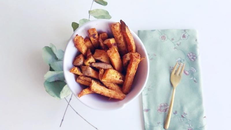 Zoete aardappel frietjes | strongbody.nl