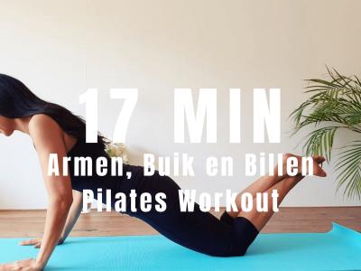 Armen, Buik en Billen Pilates Workout | strongbody.nl