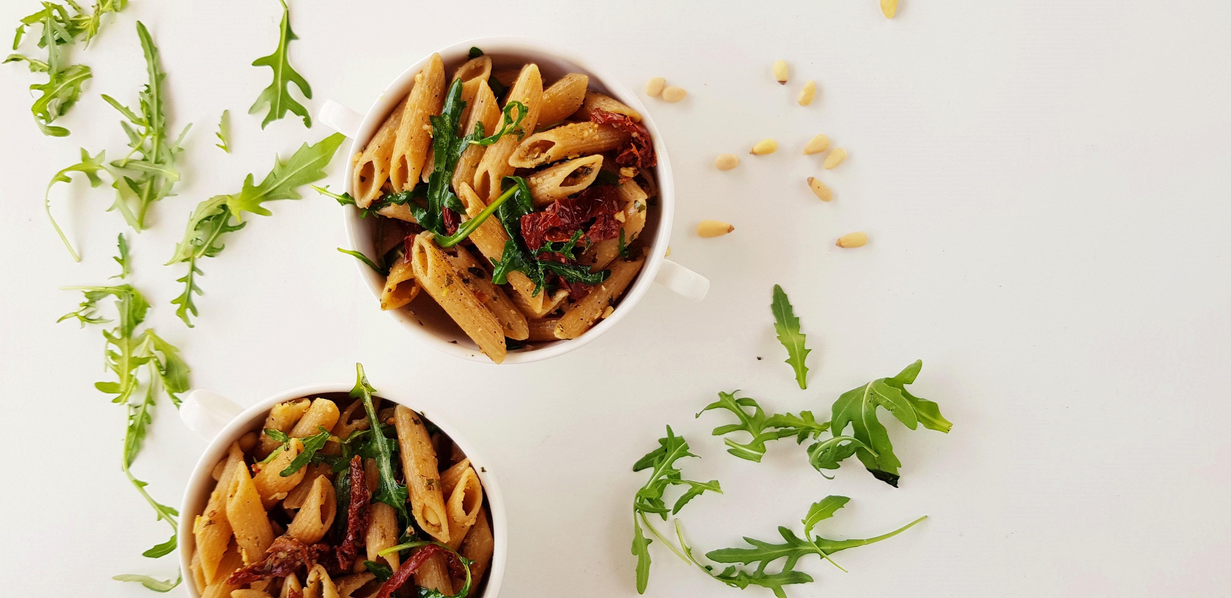 pasta-pesto | strongbody.nl | plantaardig