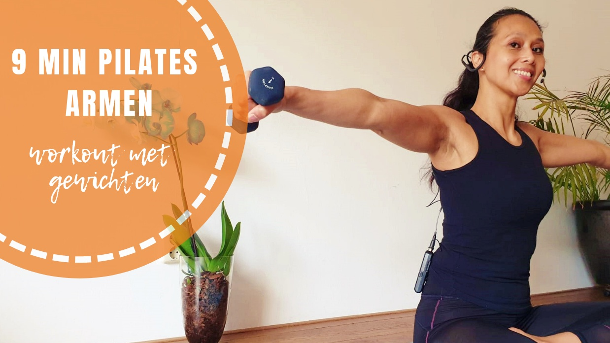 Pilates Armen Workout met Gewichten | strongbody.nl