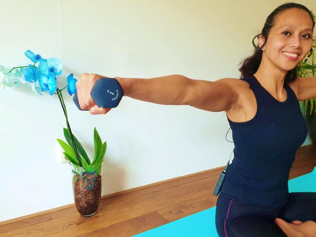 Pilates Armen Workout | strongbody.nl