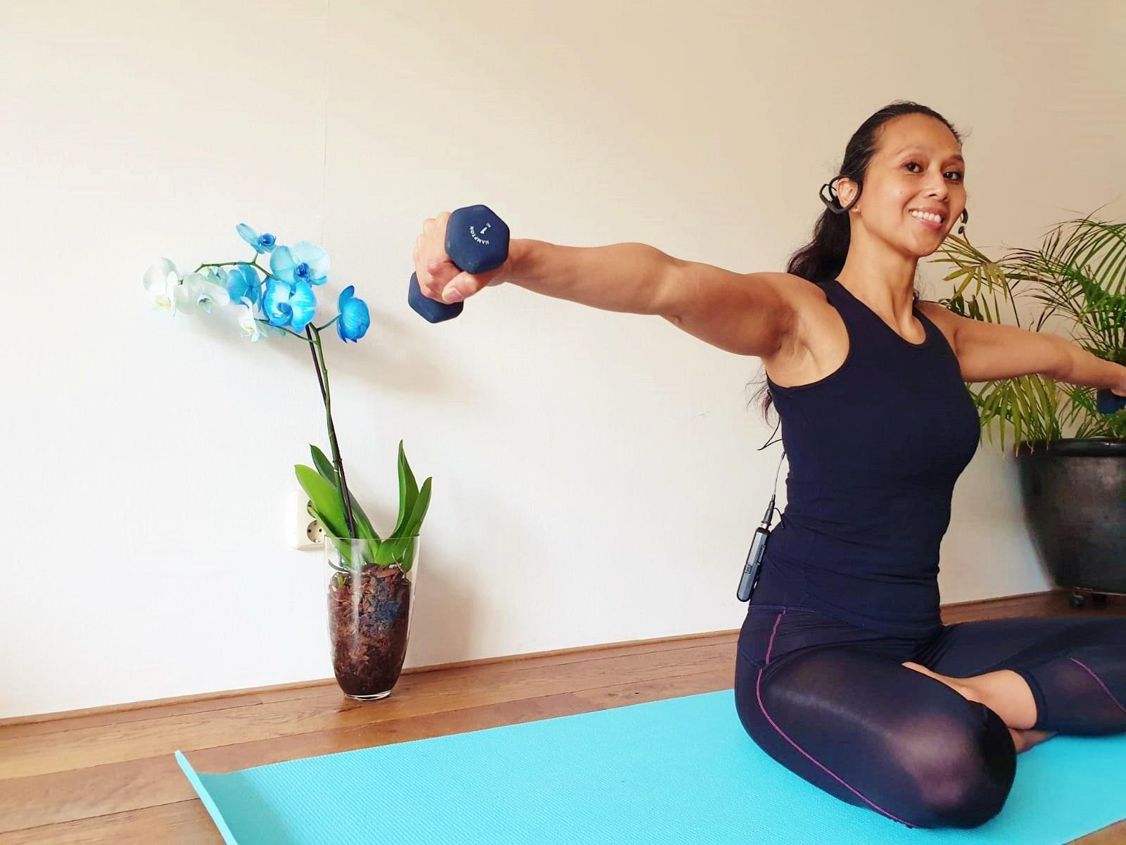 Pilates Armen Workout   strongbody.nl