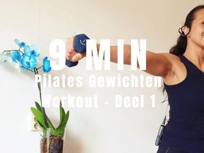 Pilates Gewichten Workout | strongbody.nl