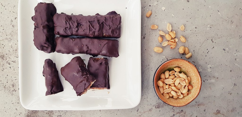 vegan snickers |strongbody.nl
