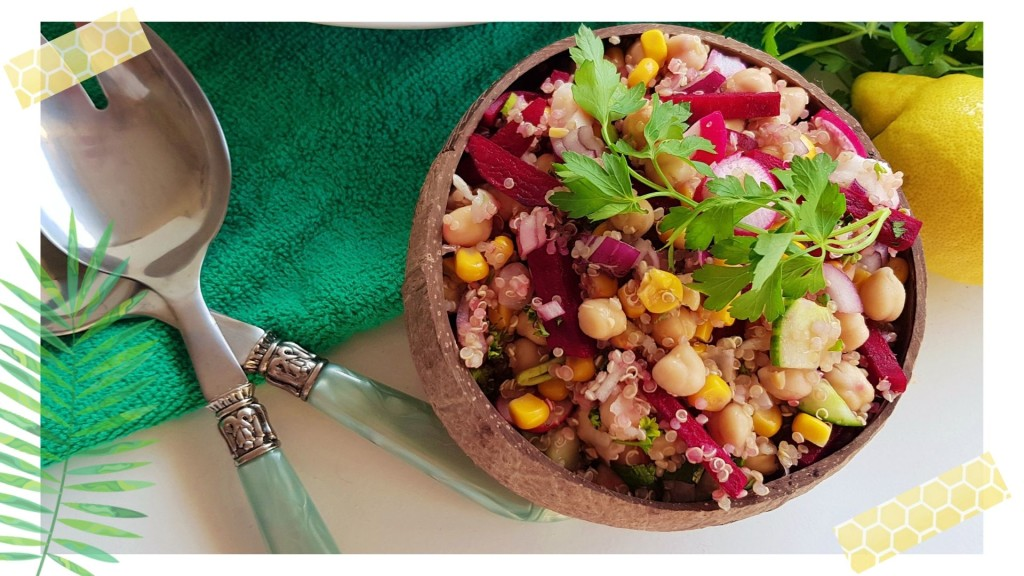 Kikkererwtensalade met quinoa | strongbody.nl