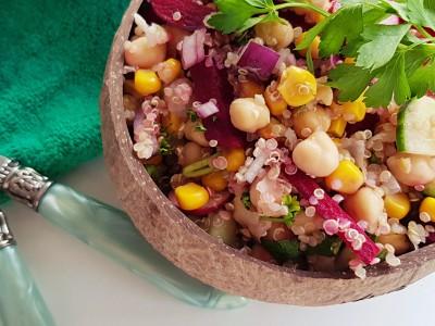 Kikkererwtensalade met quinoa |strongbody.nl