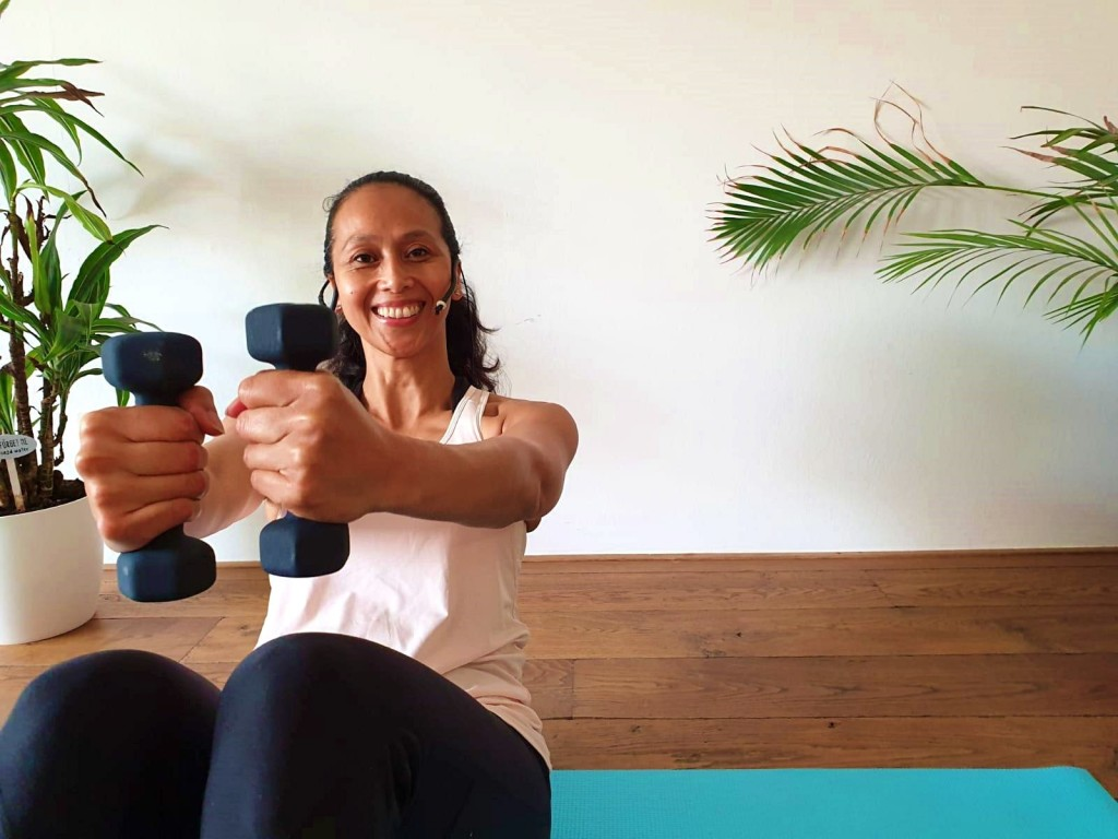 Pilates Gewichten Workout