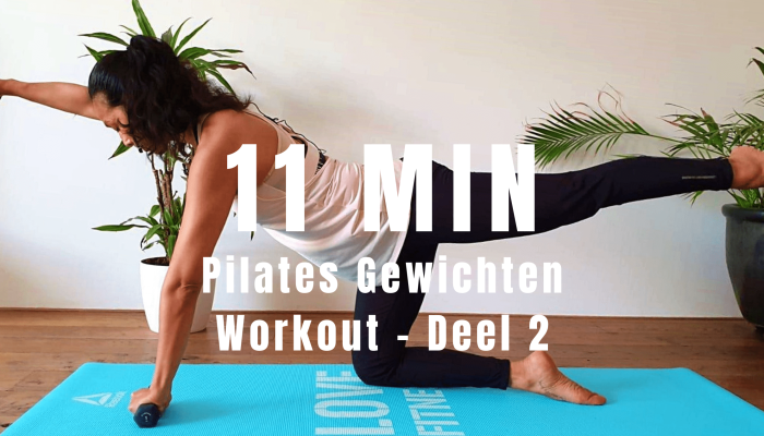 Pilates Gewichten Workout – Deel 2 | strongbody.nl