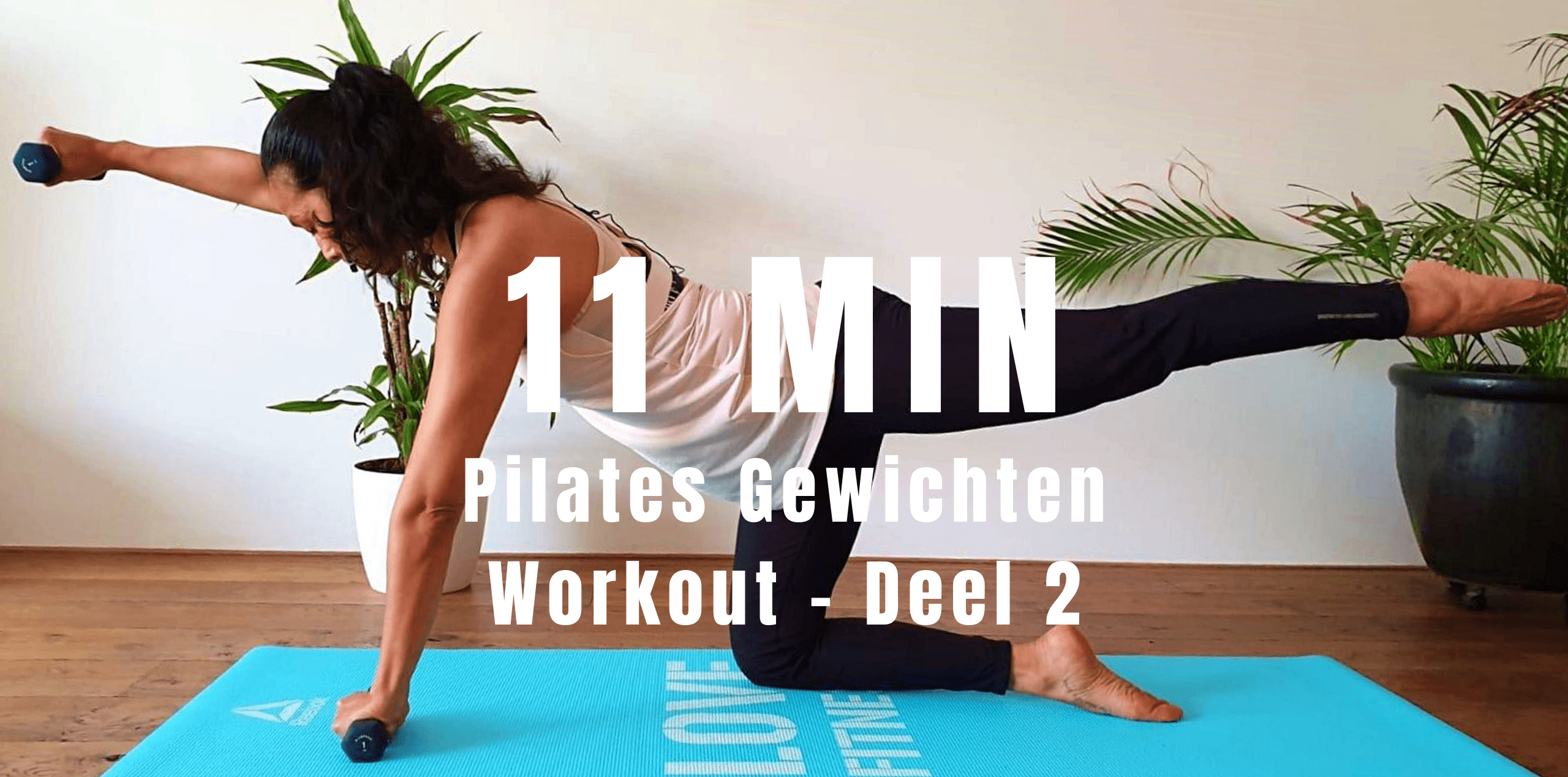 Pilates Gewichten Workout – Deel 2 | strongbody.nl