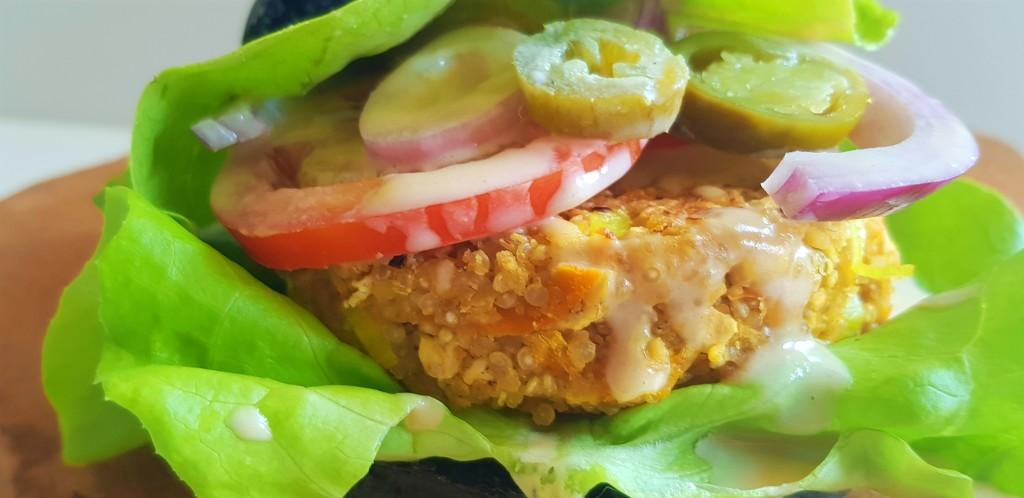 Kikkererwten burger | strongbody.nl