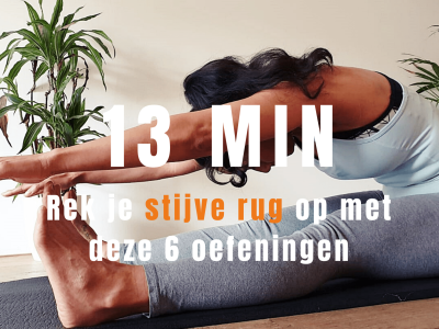 6 pilates rekaoefeningen voor de rug | strongbody.nl