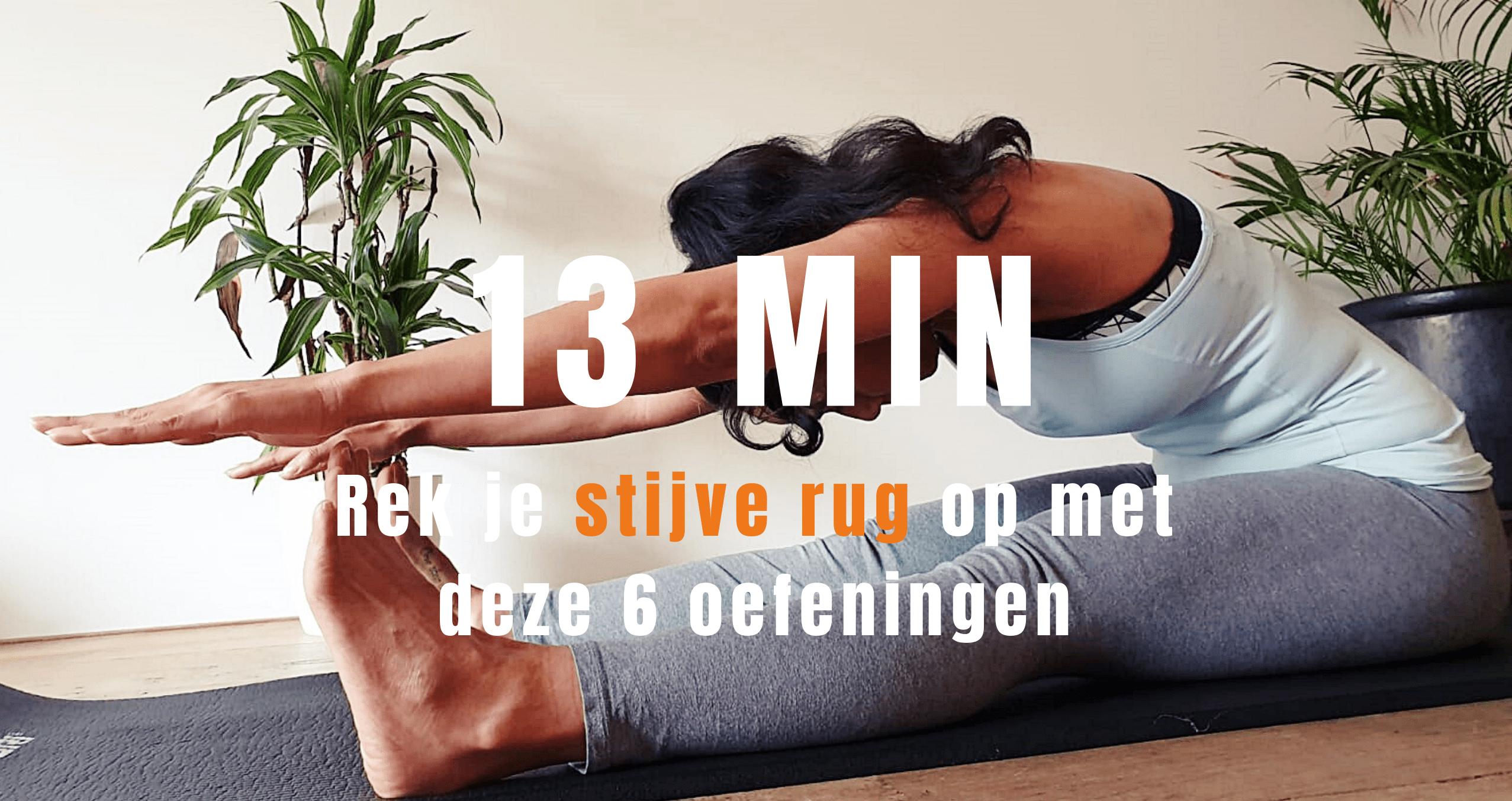 pilates rekoefeningen voor de rug   strongbody.nl