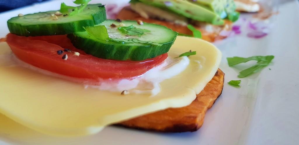 zoete aardappel toast | strongbody.nl