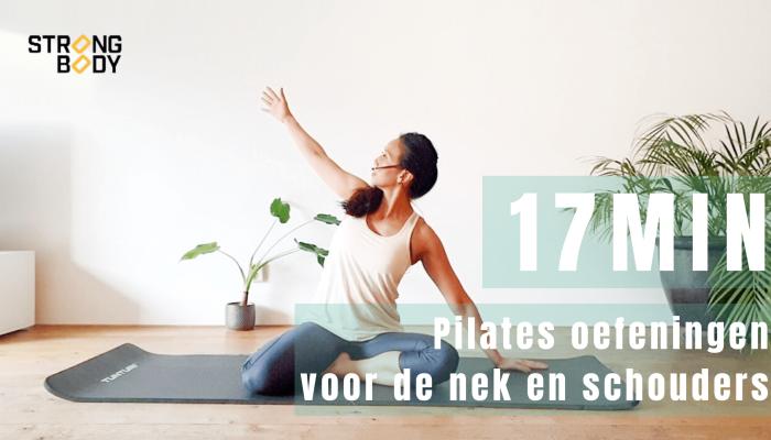 pilatesoefeningen voor nek en schouders | strongbody.nl
