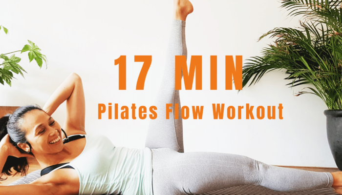 17 min pilates flow workout