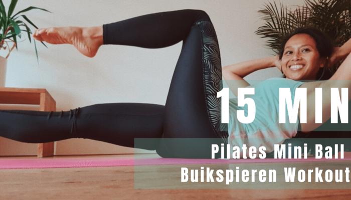 Pilates Mini Ball Buikspieren Workout