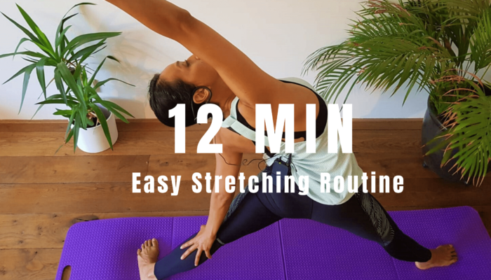 12 min Easy Stretching Routine