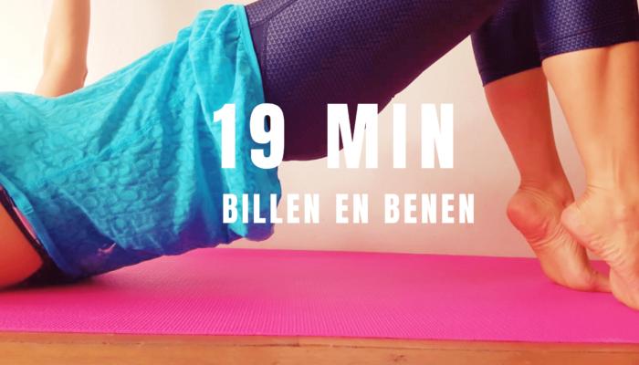 19 min Billen & Benen Workout