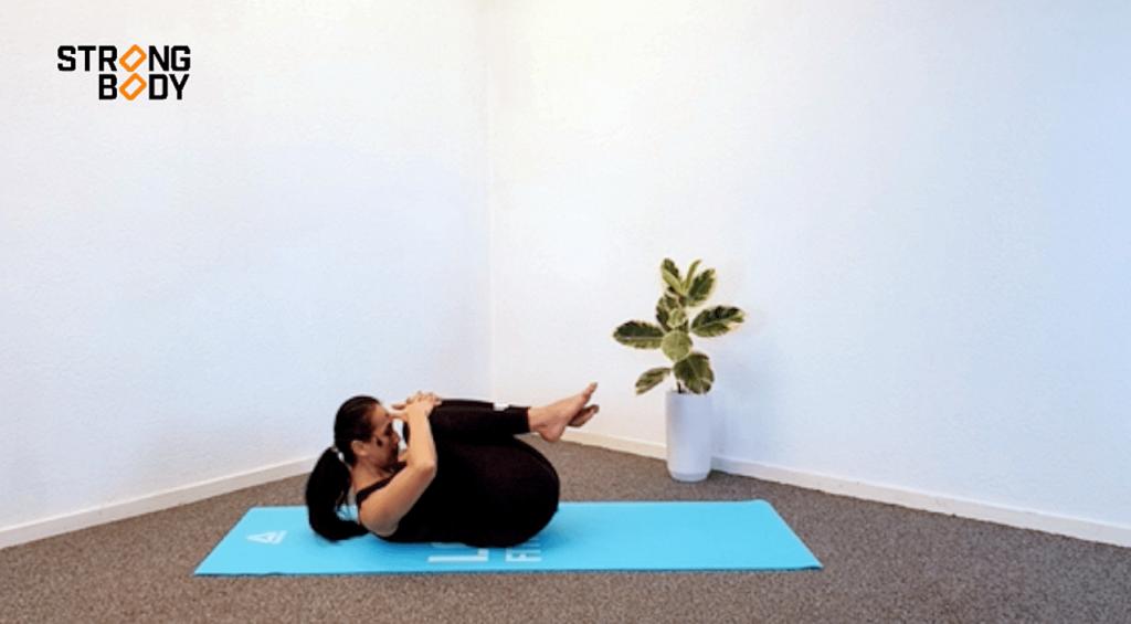 pilates rekoefeningen voor de lage rug