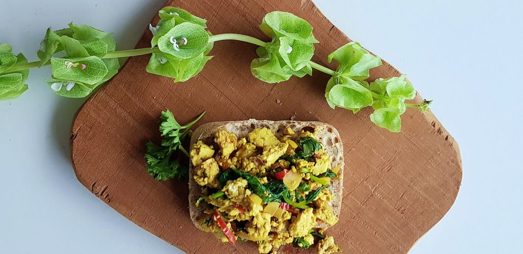 Scrambled tofu | strongbody.nl