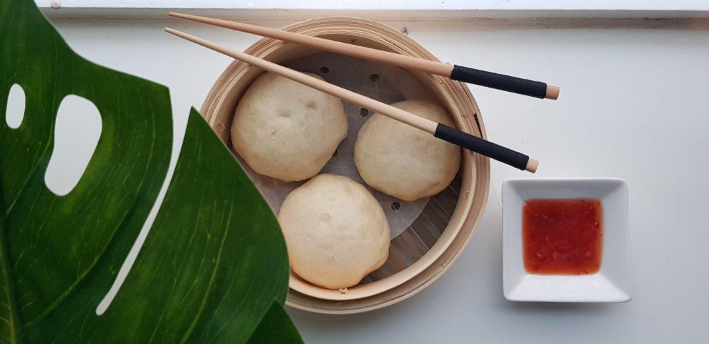 Vegan bapao met champignons vulling | strongbody.nl