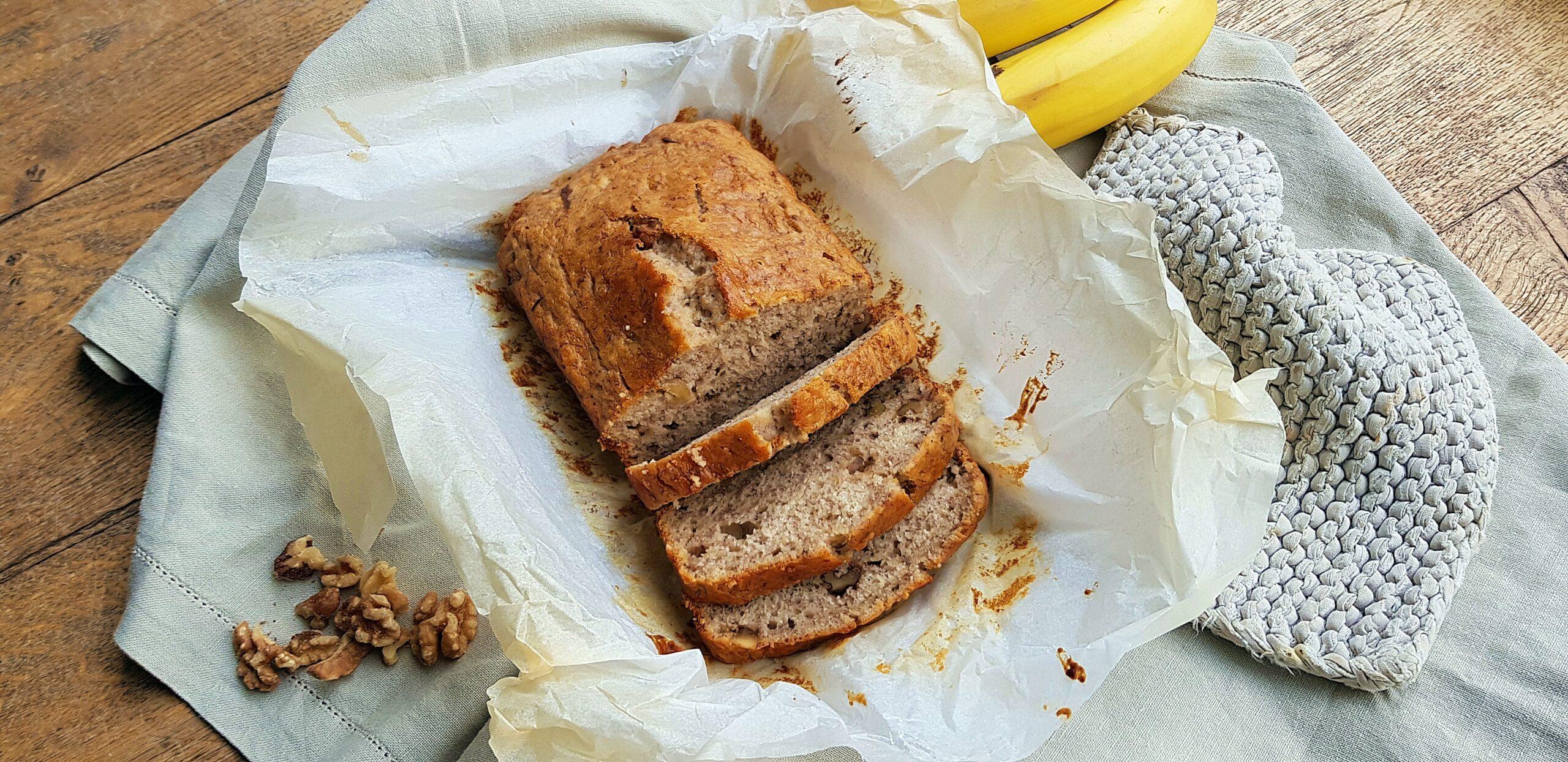 Vegan bananenbrood
