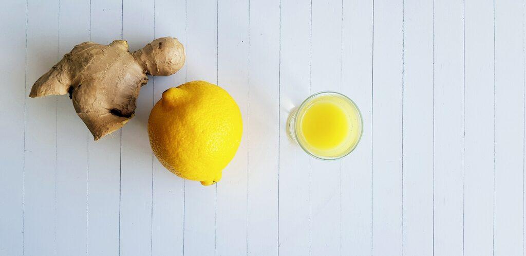 gember citroen shot