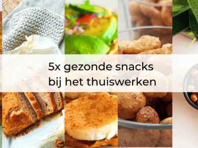 5x gezonde snacks