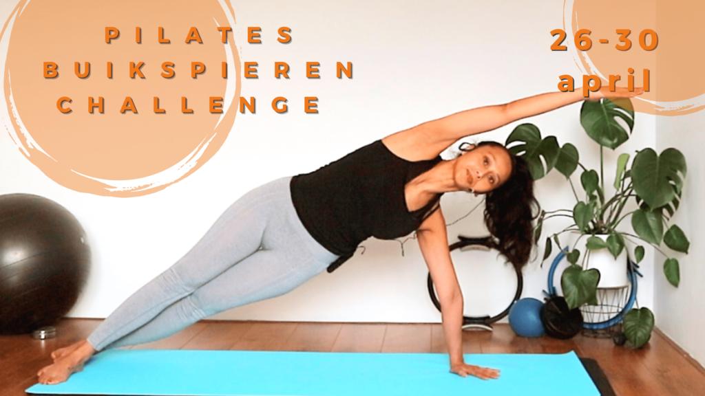 Pilates buikspieren Challenge