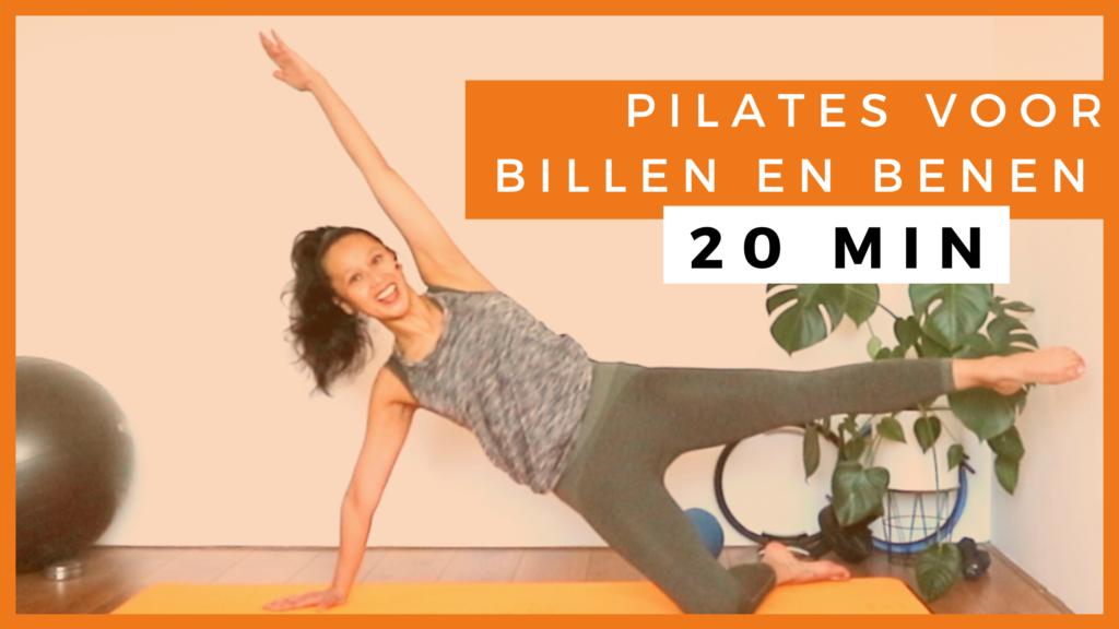 Pilates Billen en Benen (20 MIN)