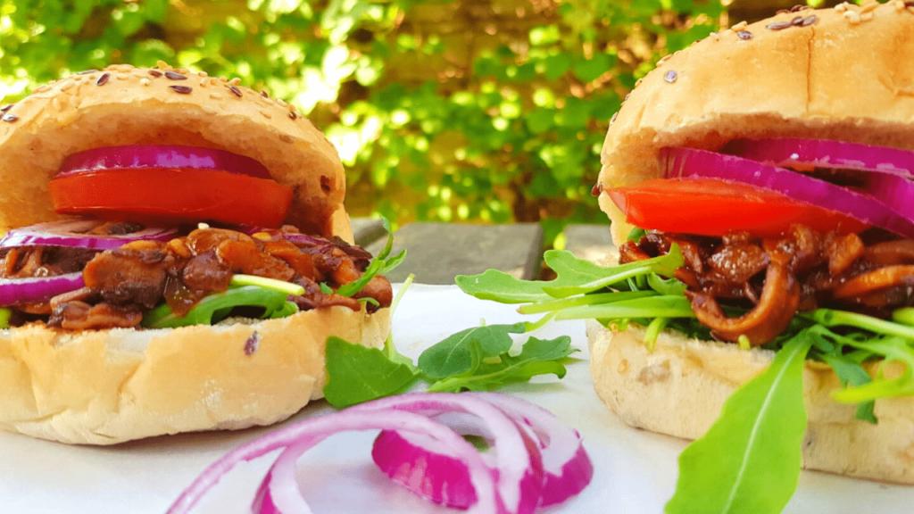 Gezond eten tijdens je vakantie: hamburger