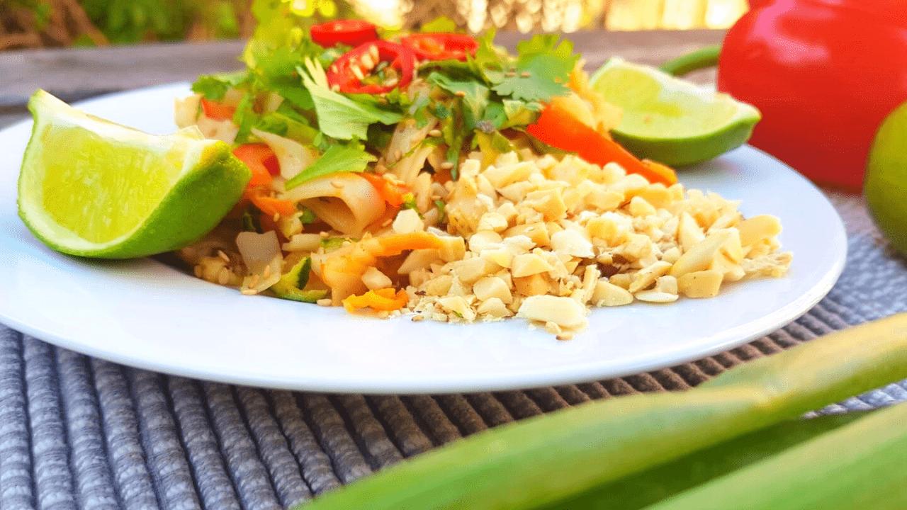 Gezond eten tijdens je vakantie: pad thai