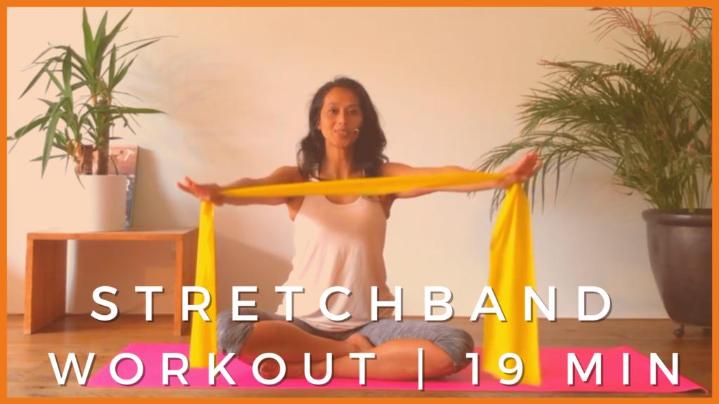 Pilates met de Stretchband (20 min)